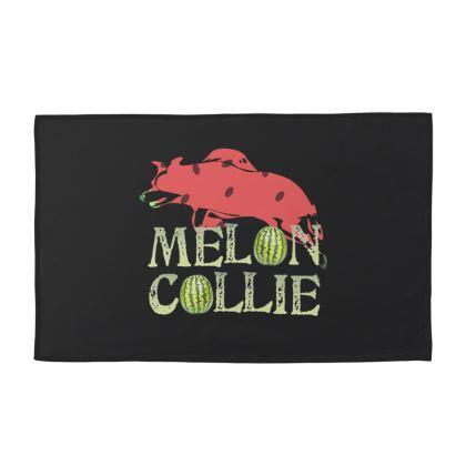 Towel Set - Melon Collie Skateboard Trick