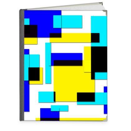 Photo Book A4 - Portrait - Bright Squares