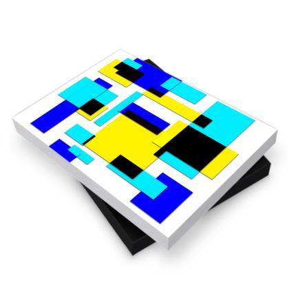 Photo Book Box - Bright Squares