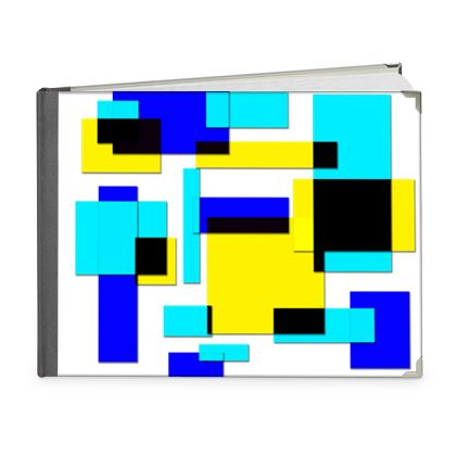 Photo Book A5 - Landscape - Bright Squares