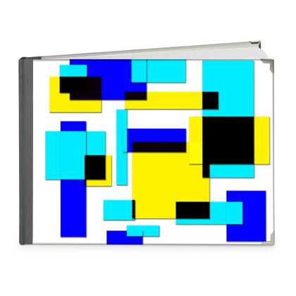 Photo Book A4 - Landscape - Bright Squares