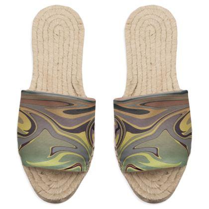 Sandal Espadrilles - Marble Rainbow 1
