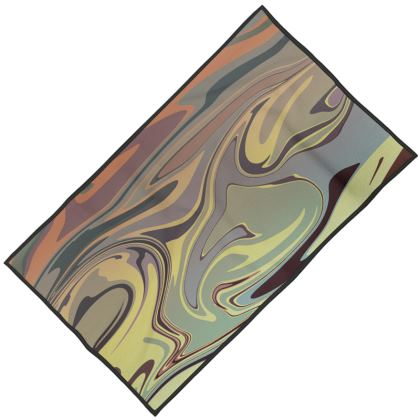 Towels - Marble Rainbow 1