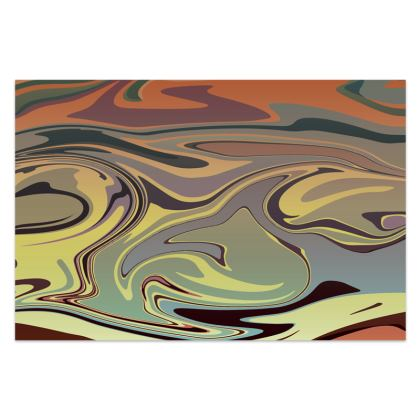Sarong - Marble Rainbow 1
