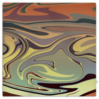 Picnic Blanket - Marble Rainbow 1