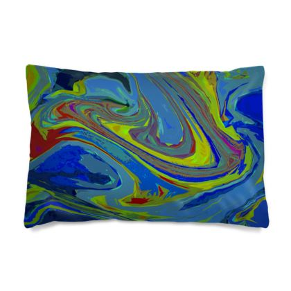 Pillow Case - Abstract Diesel Rainbow 3
