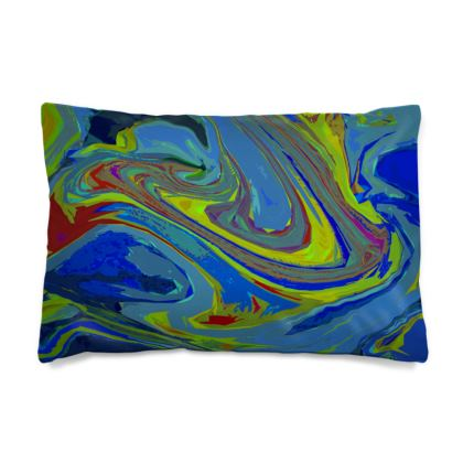 Pillow Case JAPAN - Abstract Diesel Rainbow 3