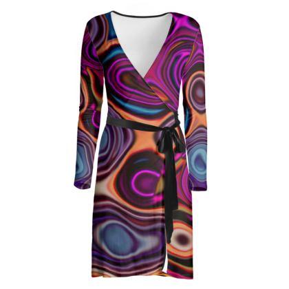 Wrap Dress Fashion Circle 6
