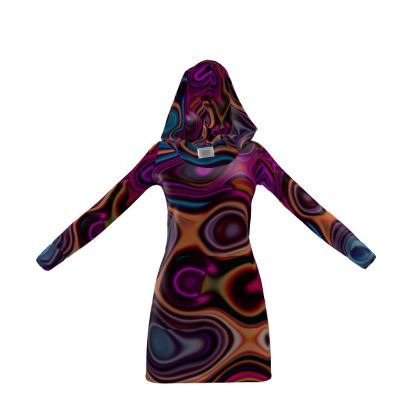 Hoody Dress Fashion Circles 6
