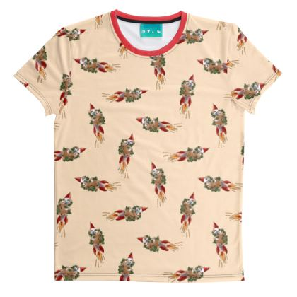 Rocket Sloth 1 All Over T-Shirt