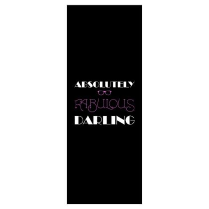 Roller Blinds (61cmx162cm) - Absolutely Fabulous Darling - ABFAB (White text)