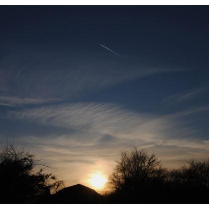 Deckchair - Low Sunset