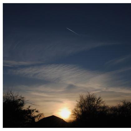 Double Deckchair - Low Sunset