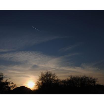 Directors Chair - Low Sunset