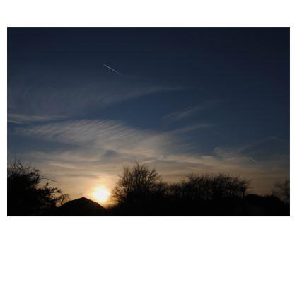 Folding Stool Chair - Low Sunset