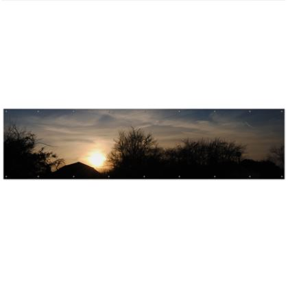Outdoor Banners - Low Sunset