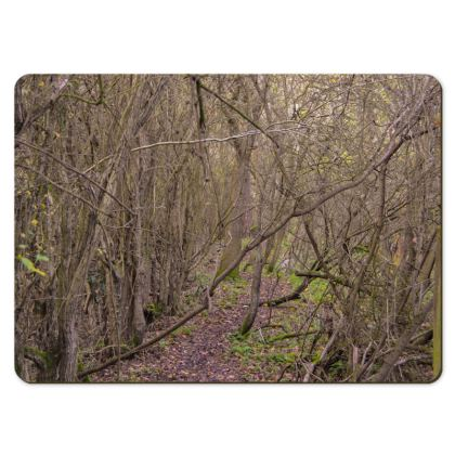 Large Placemats - Trail in the woods
