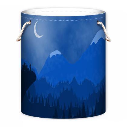 Laundry Bag - Midnight Camping