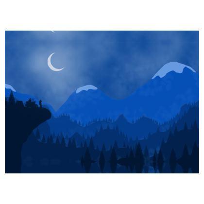 Crossbody Bag - Midnight Camping