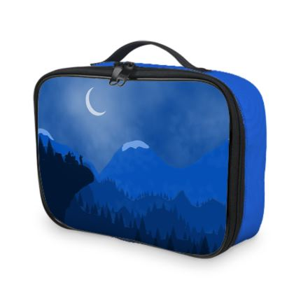 Lunch Bags - Midnight Camping