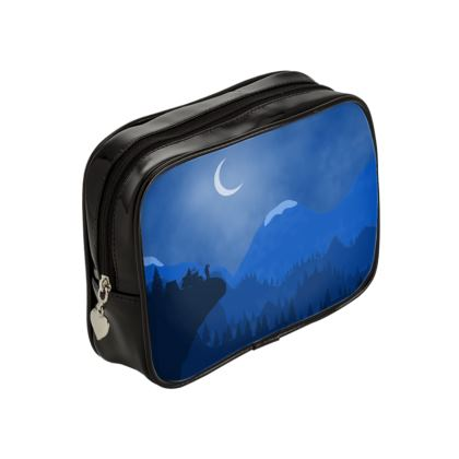 Make Up Bags - Midnight Camping