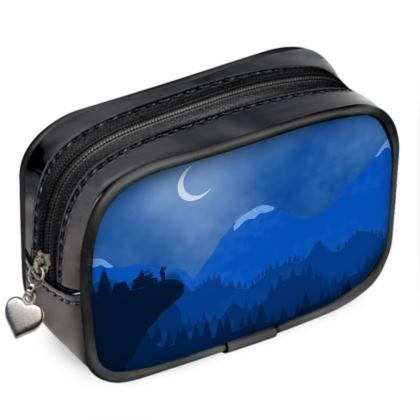 Pouch Purse - Midnight Camping