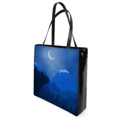 Shopper Bags - Midnight Camping