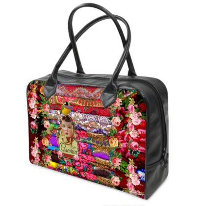 Flower Child Weekender Bag