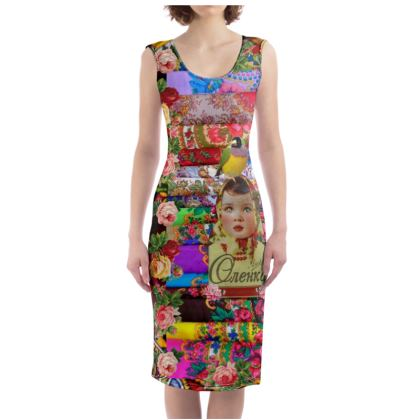 Flower Child Bodycon Dress