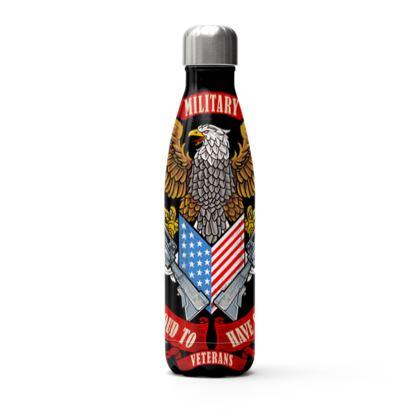 veterans eagle thermal bottle