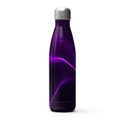 purple 3d n thermal bottle