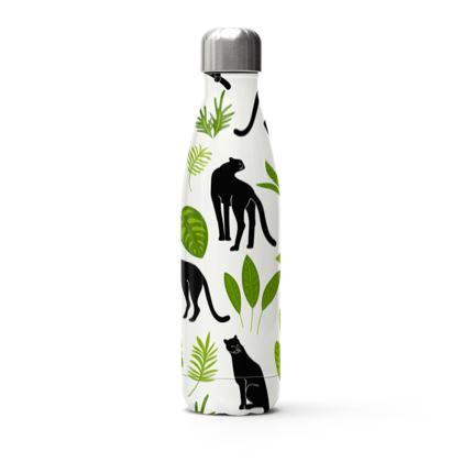 black panther thermal bottle