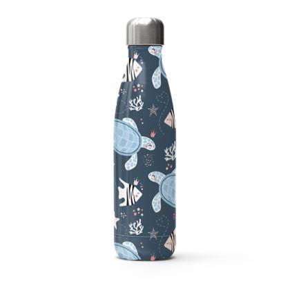 cute turtles thermal bottle