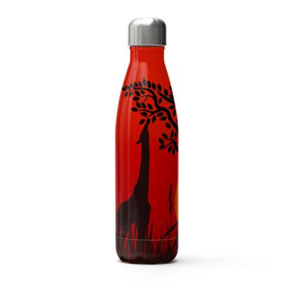 sunset thermal bottle