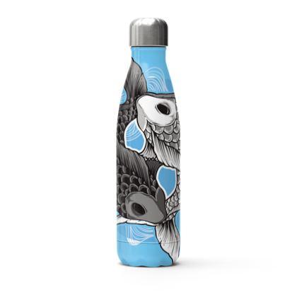koi fish thermal bottle