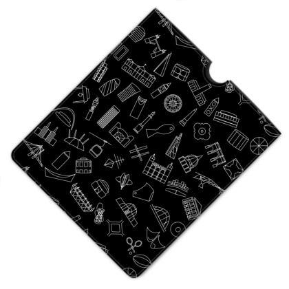 London Leather iPad Case