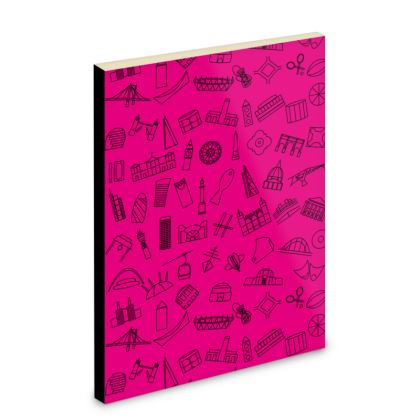 Powerful Pink Pocket Note Book