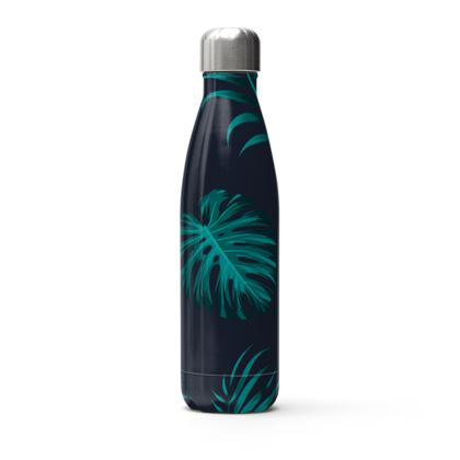 exotic leaves thermal bottle