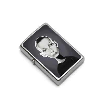 Greta Garbo Celebrity Caricature Lighter