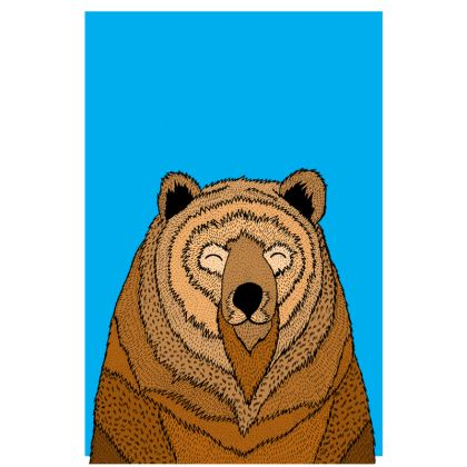 Luggage Tags - Happy Bear