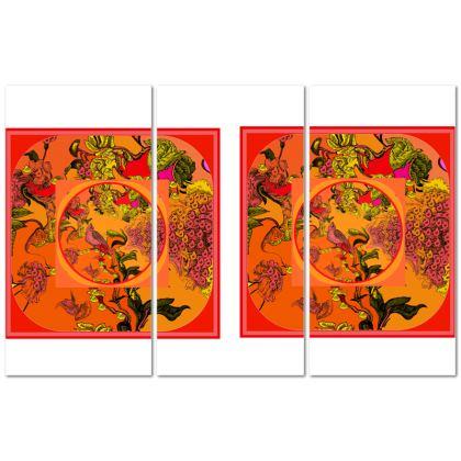 quadro artistico della collezione il paradiso segreto