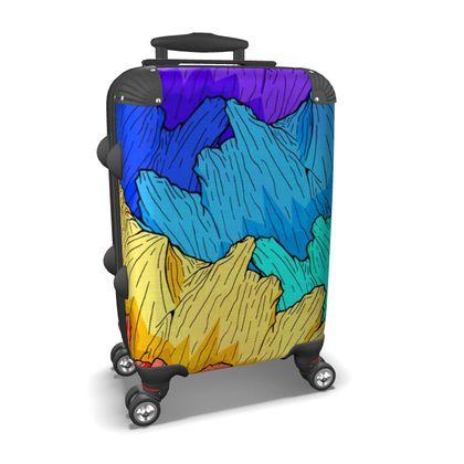 Suitcase Rainbow Mountains