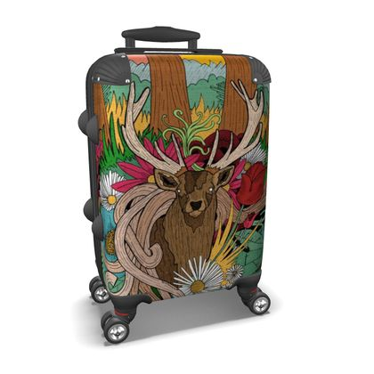 Suitcase - Woodland Spring