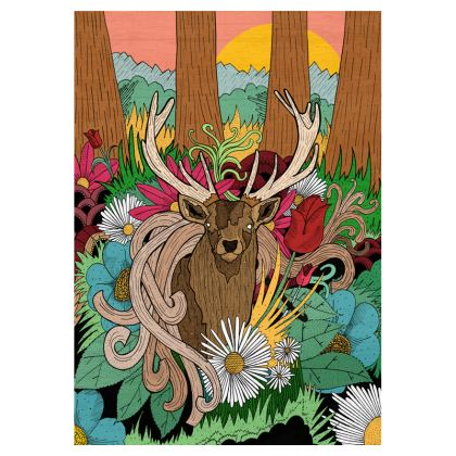 Luggage Tags - Woodland Spring
