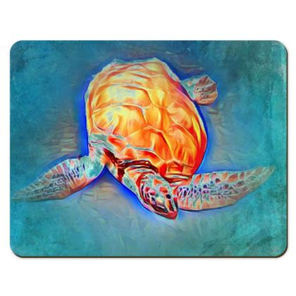 Caribbean Turtle place mat