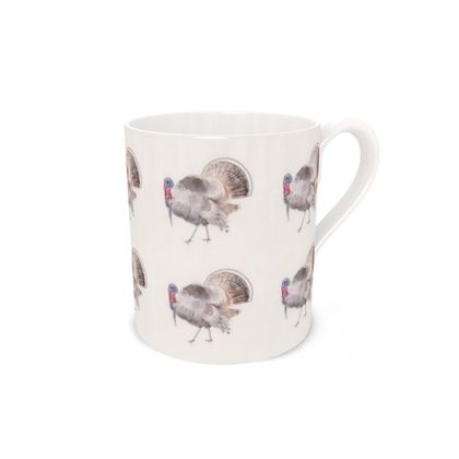 Handsome chap turkey feathered friends of the countryside Mug