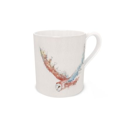 Barn Owl Beauty Feathered Friends of the Countryside Mug