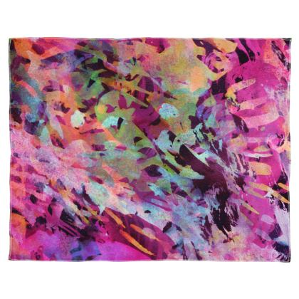 Scarf Wrap Or Shawl Watercolor Texture 14