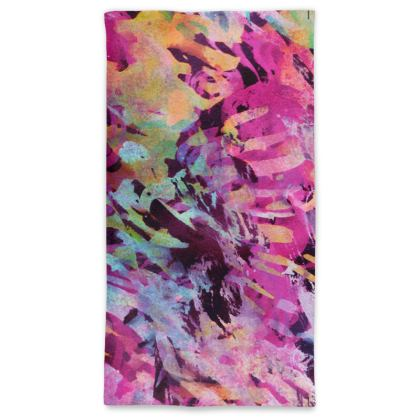 Neck Tube Scarf Watercolor Texture 14