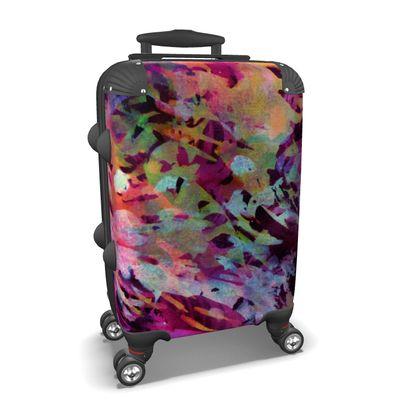 Suitcase Watercolor Texture 14